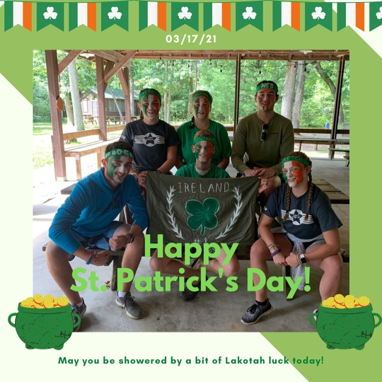 The Leprechauns made us do it!